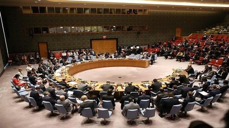 أرشيف، جلسة في مجلس الأمن الدولي