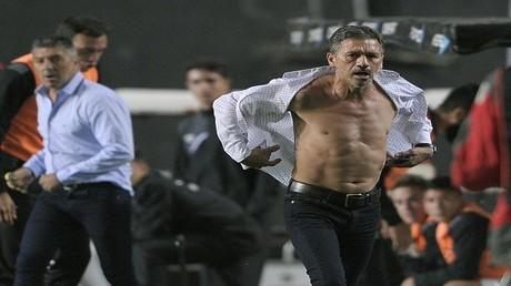 نيلسون فيفاس مدرب فريق إستوديانتس الأرجنتيني