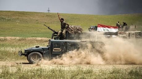 القوات العراقية على خط المواجهة في غرب الموصل، 6 مايو 2017