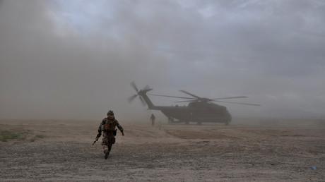 عناصر من قوات الأمن الأفغانية في ولاية قندوز