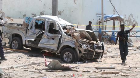 انفجار سيارة مفخخة في مقديشو - أرشيف