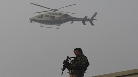 عنصر من القوات التركية