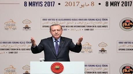 الرئيس التركي رجب طيب أردوغان 8 مايو 2017