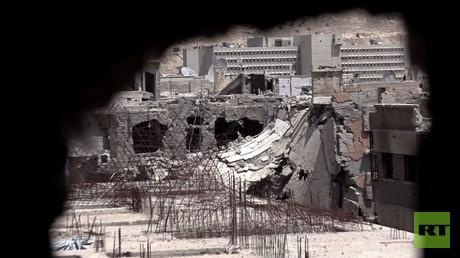 تجدد الاشتباكات في حي القابون وتعليق إجلاء مسلحي حي برزة