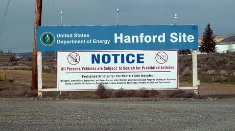 موقع هانفورد النووي في ولاية واشنطن