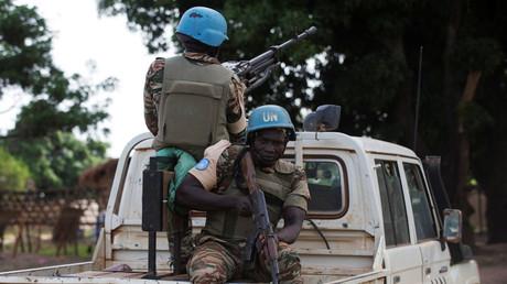"""دورية لـ""""القبعات الزرقاء"""" في إفريقيا الوسطى"""
