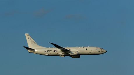 """طائرة الاستطلاع الأمريكية """"P-8A Poseidon"""""""
