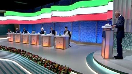 مناظرة أخيرة بين المرشحين للرئاسة بإيران
