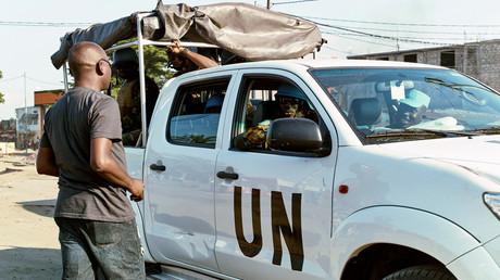 جنود البعثة الأممية في الكونغو الديمقراطية