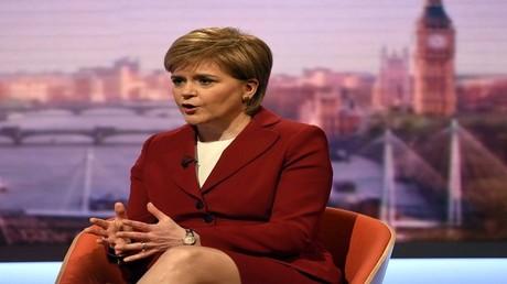 رئيسة الوزراء الإسكوتلندية نيكولا ستيرجن