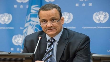 المبعوث الأممي الخاص إلى اليمن اسماعيل ولد الشيخ أحمد
