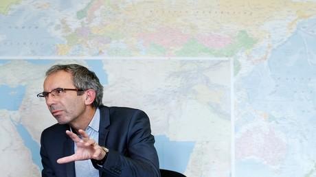 دومينيك استيلهارت، مسؤول العمليات لدى لجنة الصليب الأحمر الدولية