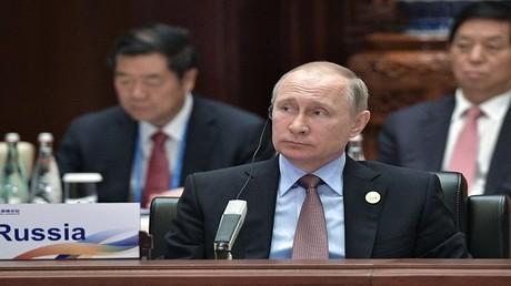 الرئيس الروسي فلاديمير بوتين في منتدى
