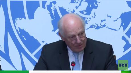 دي ميستورا: اجتماع جنيف سيكون مختلفا عن السابق وبحضور كل الوفود