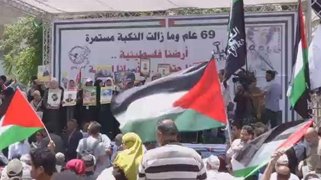 فلسطين تحيي ذكرى النكبة وسط غضب شعبي