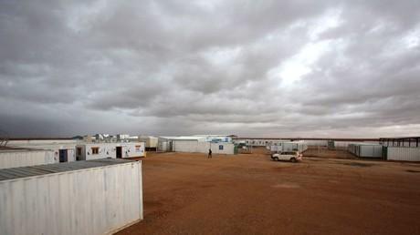 مخيم الركبان للاجئين السوريين