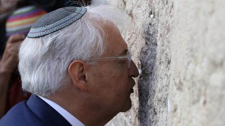 السفير الأمريكي الجديد لدى إسرائيل ديفيد فريدمان