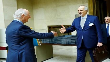ستيفان دي ميستورا يلتقي بشار الجعفري اليوم في جنيف