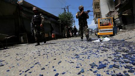تفجير إرهابي في محيط التلفزيون في أفغانستان