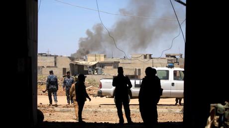القوات العراقية غرب الموصل