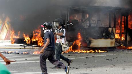 الاحتجاجات في فنزويلا