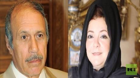 حبيب العادلي وزوجته