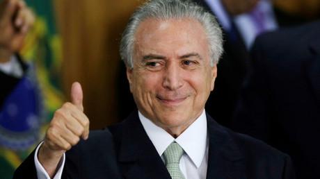 الرئيس المؤقت الجديد للبرازيل ميشال تامر