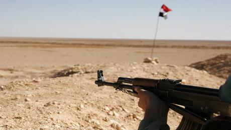 منطقة التنف جنوب سوريا