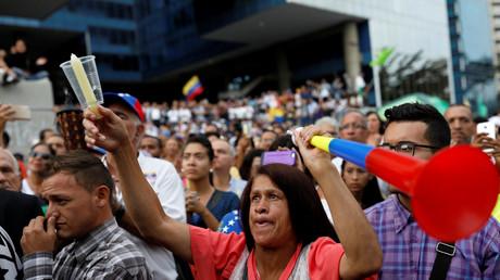 اجتماع للمعارضة في كاراكاس