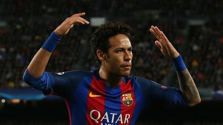 نيمار مهاجم برشلونة الإسباني