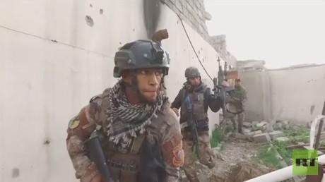 القوات العراقية تعلن التقدم بغربي الموصل