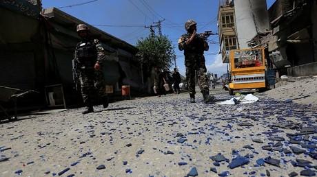 عناصر من القوات الأفغانية- أرشيف -