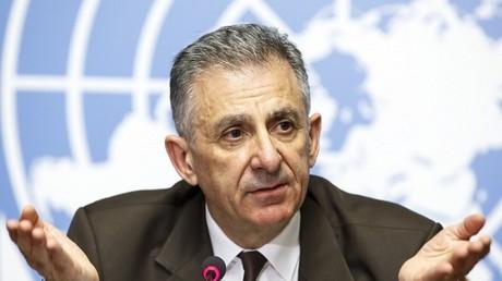 رئيس لجنة مكافحة الإرهاب في الأمم المتحدة جان بول لابورد