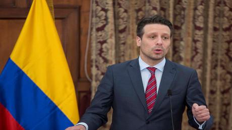 وزير خارجية الإكوادور