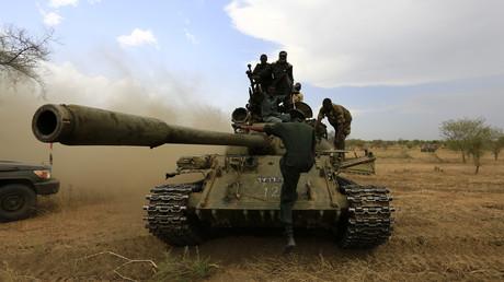 صورة أرشيفية لقوات من الجيش السوداني