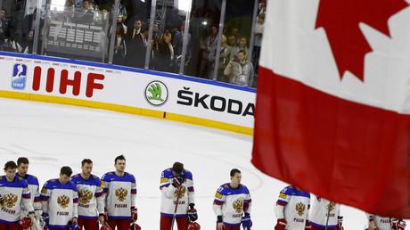 المنتخب الكندي يتغلب على نظيره الروسي