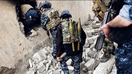 جنود عراقيون في الموصل