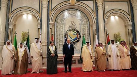 انطلاق أعمال القمة الخليجية-الأمريكية برئاسة الملك سلمان والرئيس ترامب