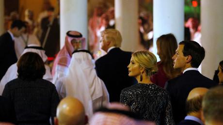 إيفانكا ترامب رفقة زوجها جاريد كوشنر