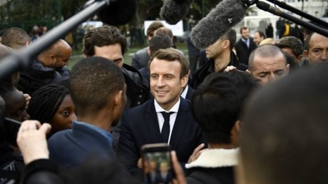 لرئيس الفرنسي إيمانويل ماكرون