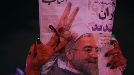 انتخاب روحاني لولاية ثانية