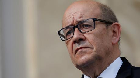 وزير الخارجية الفرنسي، جان-إيف لودريان.