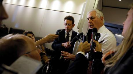 تيلرسون: لا أرى ما يتطلب تقديم اعتذار للحكومة الإسرائيلية