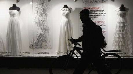 محل لبيع فساتين الزفاف في كييف