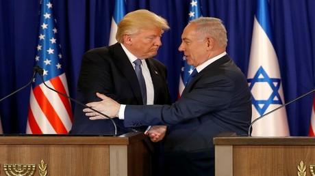 ترامب ونتنياهو، القدس 22 مايو 2017