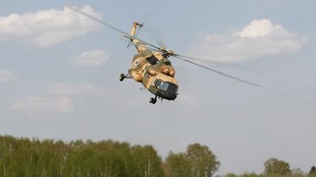 طائرة مروحية روسية من طراز مي-17 بي 5