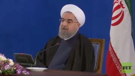 روحاني: سأعمل لإعادة الاستقرار للمنطقة