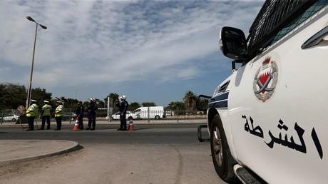 أرشيف، أفراد من الشرطة البحرينية في مهمة