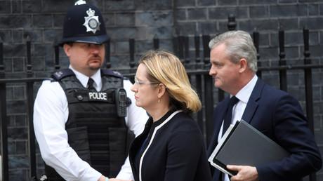 وزيرة الداخلية البريطانية أمبر راد
