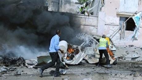 تفجير سابق في مقديشو (أرشيف)